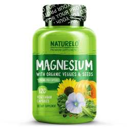 NATURELO Magnesium with Organic Veggies and Seeds