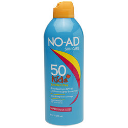 NO-AD Suncare Kids Sunscreen