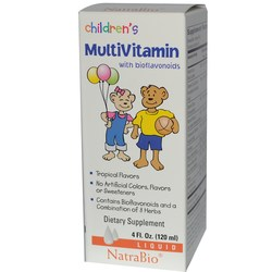 Natra-Bio Children's Vitamin C Liquid