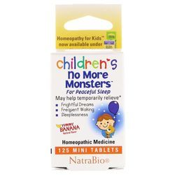 Natra-Bio Children's No More Monsters