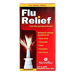 Natra-Bio Flu Relief Nasal Spray