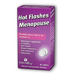 Natra-Bio Hot Flashes and Menopause