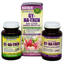 Natren Gy-Na-Tren Vaginal Health Solution Kit