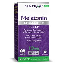 Natrol Melatonin Advanced Sleep 10 mg