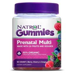 Natrol Prenatal Multivitamin Gummy - Berry- Cherry  Grape