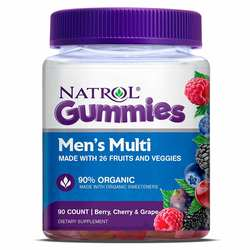 Natrol Multi Gummy for Men - Berry- Cherry  Grape