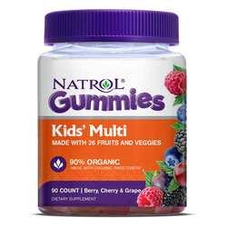 Natrol Kids' Multi Gummies - Berry- Cherry  Grape