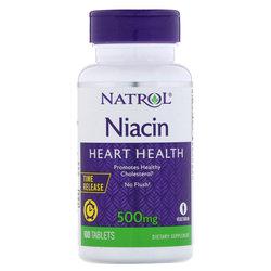 Natrol Niacin 500 mg Time Release