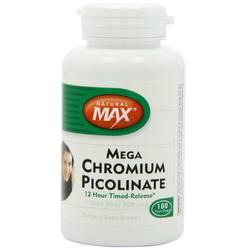 NaturalMax Mega Chromium Picolinate 500 mcg