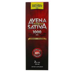 Natural Balance Avena Sativa Wild Oats Liquid