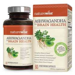NatureWise Ashwagandha for Brain Health
