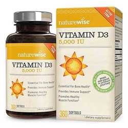 NatureWise Vitamin D3 - 5000IU