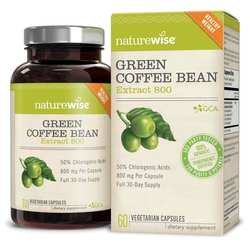 NatureWise Green Coffee Bean Extract - 800mg