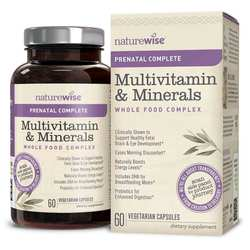 NatureWise Women's Prenatal Multivitamin Mineral Whole Food Complex