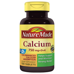 Nature Made Calcium with Vitamins D3 and K