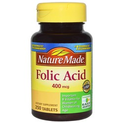 Nature Made Folic Acid 400 mcg