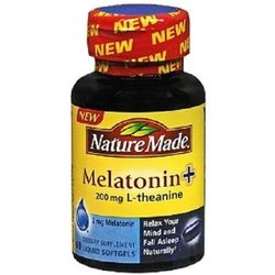 Nature Made Melatonin + L-Theanine