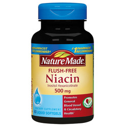 Nature Made Flush Free Niacin 500 mg