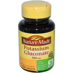 Nature Made Potassium Gluconate