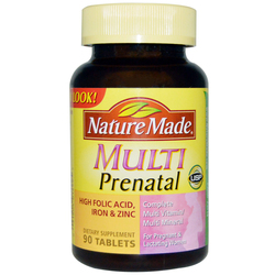 Nature Made Prenatal Multivitamins