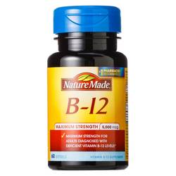 Nature Made Maximum Strength B-12 5000 mg