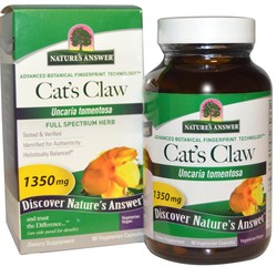 Nature's Answer Cat's Claw Inner Bark 1-350 mg