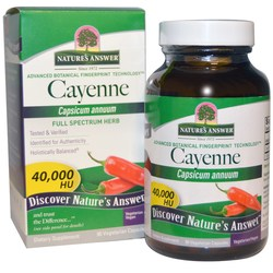 Nature's Answer Cayenne Pepper Fruit 450 mg
