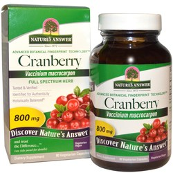 Nature's Answer Cranberry Fruit 800 mg