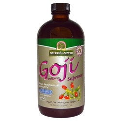 Nature's Answer Liquid Goji Wolfberry Supreme with ORAC Super 7