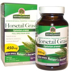 Nature's Answer Horsetail Grass 450 mg