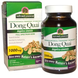 Nature's Answer Dong Quai Root 1000 mg