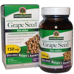 Nature's Answer Grape Seed Standardized Extract