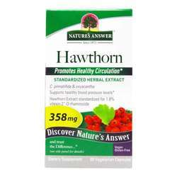 Nature's Answer Hawthorn Leaf Standardized Extract