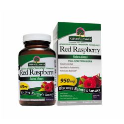 Nature's Answer Red Raspberry 950 mg