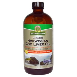 Nature's Answer Liquid Norwegian Cod Liver Oil
