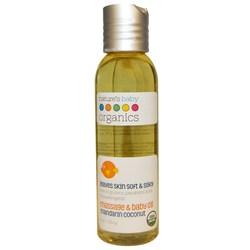 Nature's Baby Organics Massage and Baby Oil