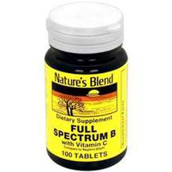 Nature's Blend Full Spectrum B With Vitamin C