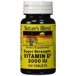 Nature's Blend Vitamin D3