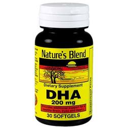 Nature's Blend DHA 200 mg