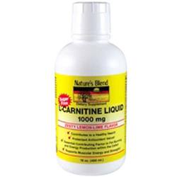 Nature's Blend Liquid L-Carnitine 1000 Mg
