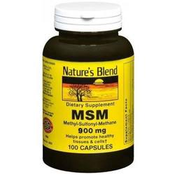 Nature's Blend MSM 900 mg