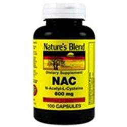 Nature's Blend NAC 600 mg