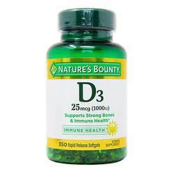 Nature's Bounty High Potency D3