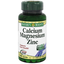 Nature's Bounty Calcium Magnesium Zinc