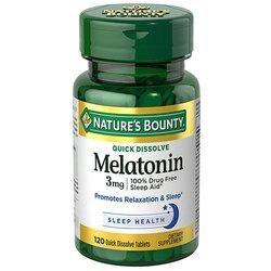 Nature's Bounty Melatonin