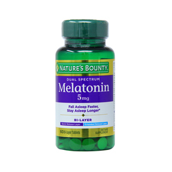 Nature's Bounty Bi-Layer Dual Spectrum Melatonin