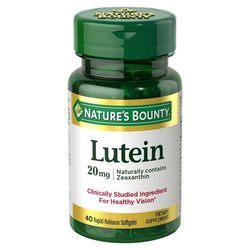 Nature's Bounty Lutein 20 mg