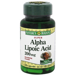 Nature's Bounty Super Alpha Lipoic Acid