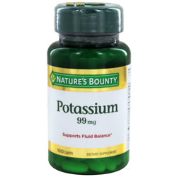 Nature's Bounty Potassium