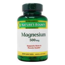 Nature's Bounty Maximum Strength Magnesium